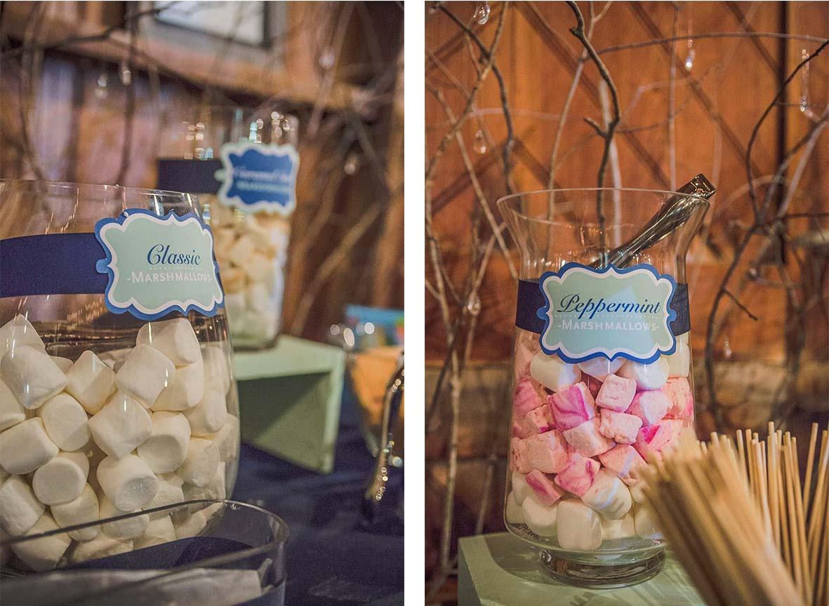 Wedding S'mores Bar | Design Waffle