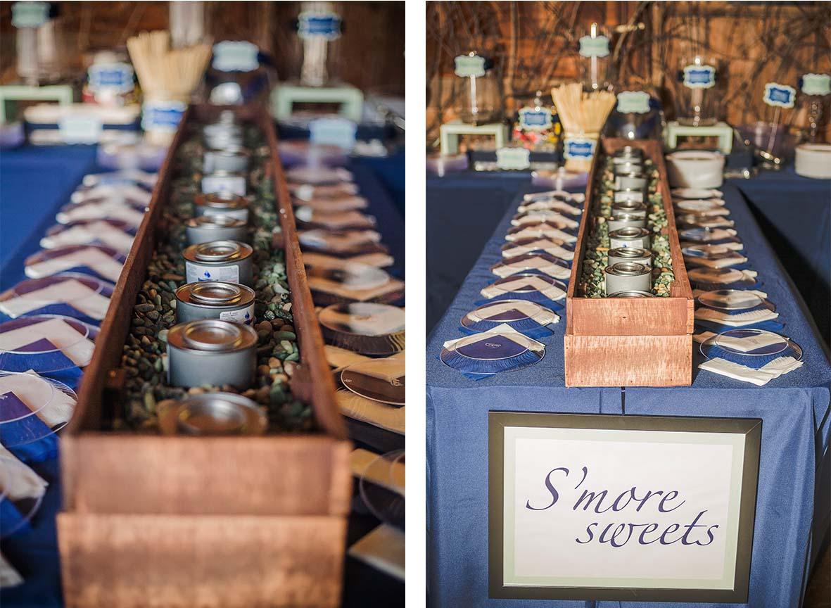 Wedding smores bar design waffle diy smores bar solutioingenieria Images