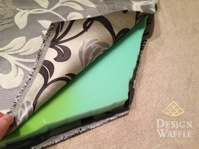 window seat cushion foam and fabric
