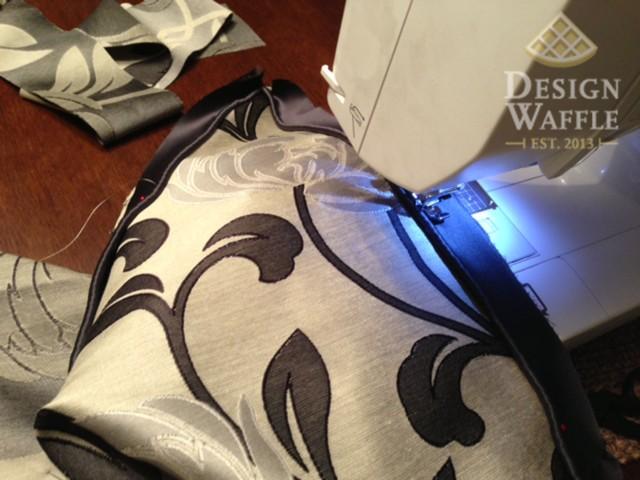 sewing window seat cushion