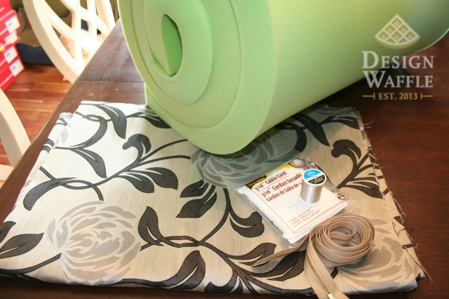 window seat cushion supplies