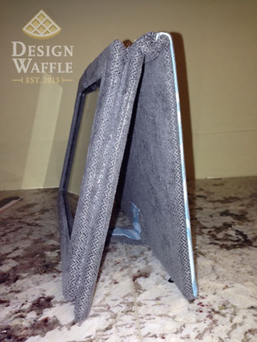 DIY kindle case side