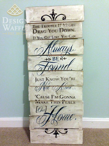 Wood Sign Design Ideas decorating ideas primitive country home signs amish come with handcrafted wood sign and white stain Diy Transfer Image To Wood