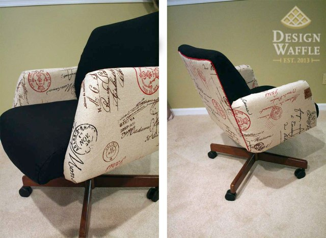 DIY office chair makeover