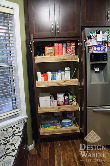 kitchen pantry rollouts