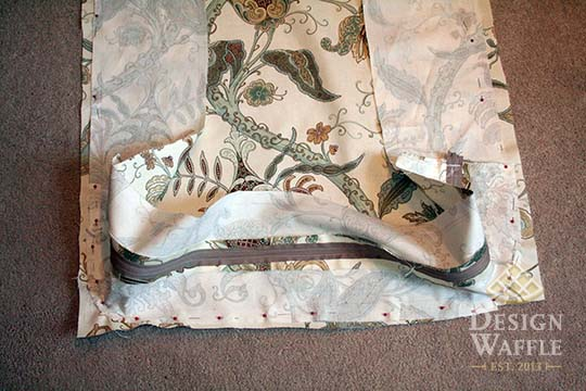 sewing sunroom cushions