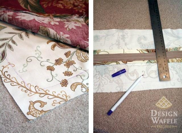 sewing sunroom cushions