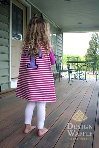 DIY kids cape
