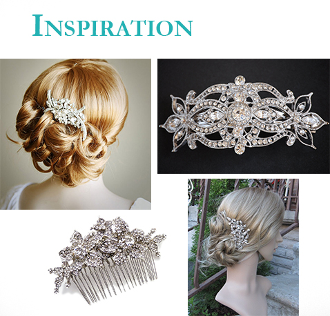 wedding accessories hair clip