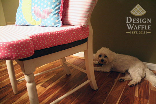 DIY Rocking Chair Cushions
