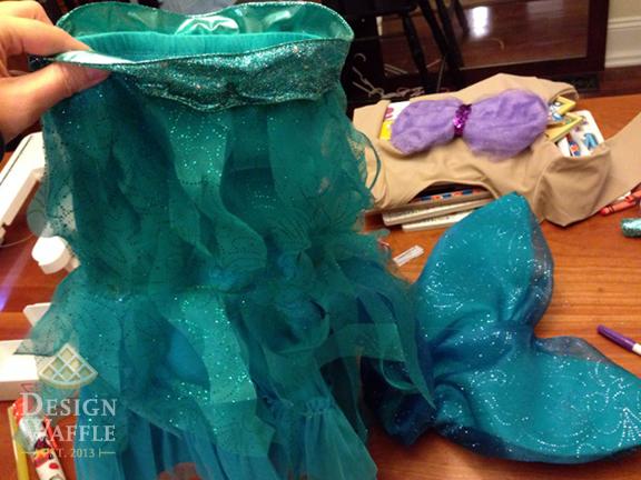 Ariel Girl Costume