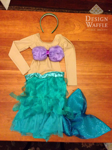 Little Mermaid Ariel Girl Costume