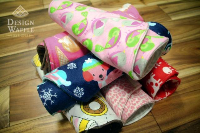 DIY Baby Burp Cloths