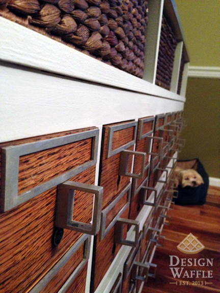 Refinished Library Card Catalog