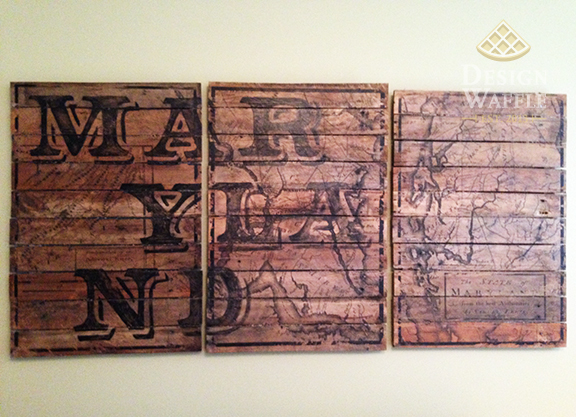 DIY Wood Transfer Art